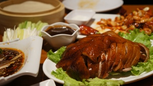 Peking duck deliciousness