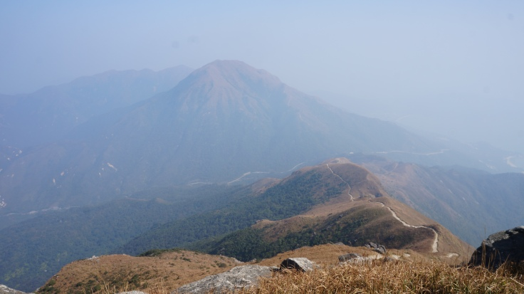 View of Sunset Peak from Lantau Peak